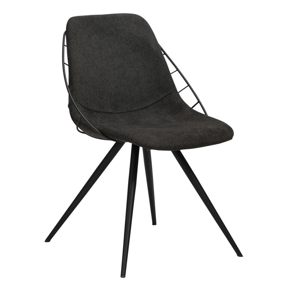 Czarne krzesło DAN-FORM Denmark Sway