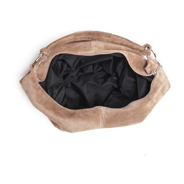 Skórzana torebka Mangotti 8003 Fango