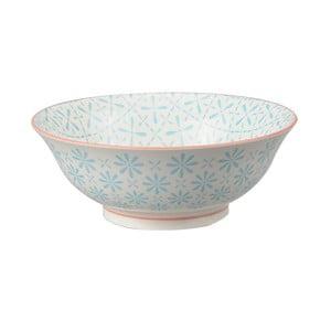Porcelanowa miska Soba Flower Blue, 21x7,8 cm