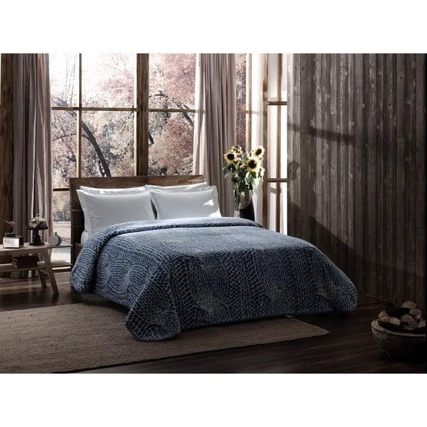 Koc Blue Knit, 220x240 cm