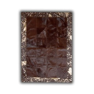 Dywan skórzany Acid Bronze, 140x200 cm