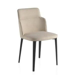 Kremowe krzesło Ángel Cerda Stella