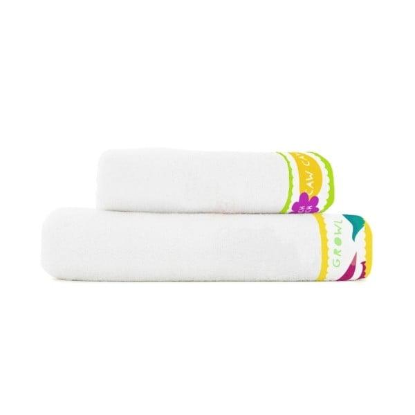 Komplet 2 ręczników Little W Dinosaurus
