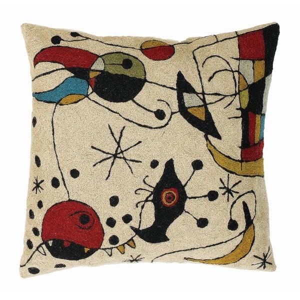 Poszewka na poduszkę Miro Cream, 45x45 cm