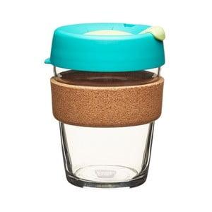 Kubek z pokrywką KeepCup Brew Cork Edition Thyme, 340 ml