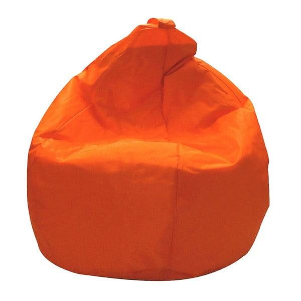 Pomarańczowy worek do siedzenia Evergreen House Droplet