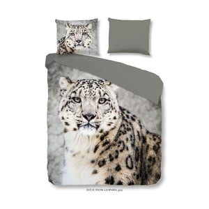 Pościel Good Morning Snow Leopard, 140x200 cm