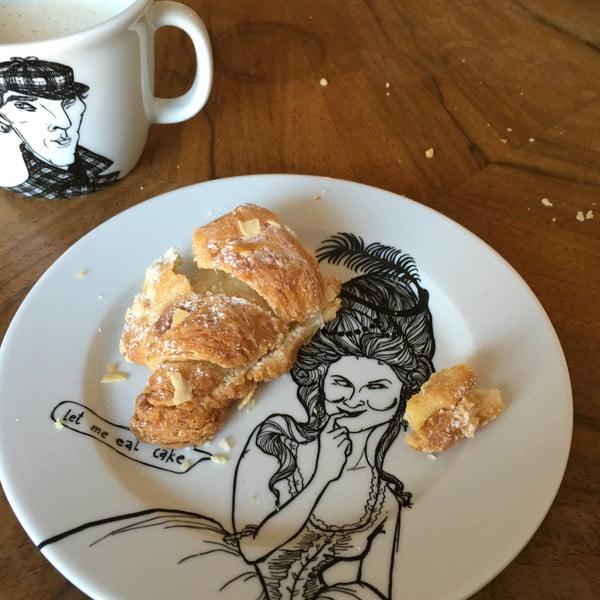 Talerzyk Marie Antoinette, miłośniczka słodkości