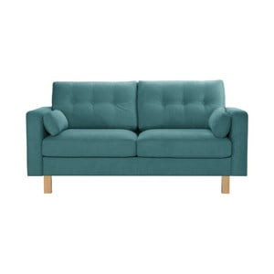 Niebieska sofa trzyosobowa Stella Cadente Lagoa