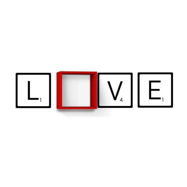 Półka Love Red