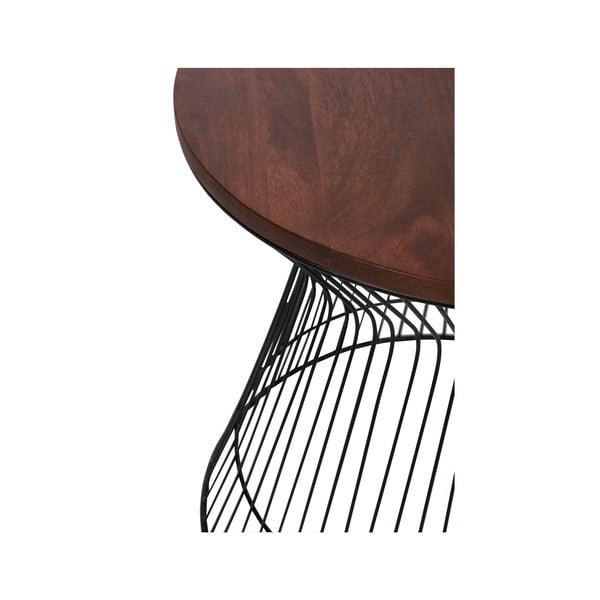 Stolik Hourglass Brown