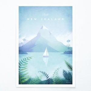 Plakat Travelposter New Zealand, A3