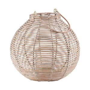 Lampion rattanowy Butlers Asia, ⌀ 30 cm
