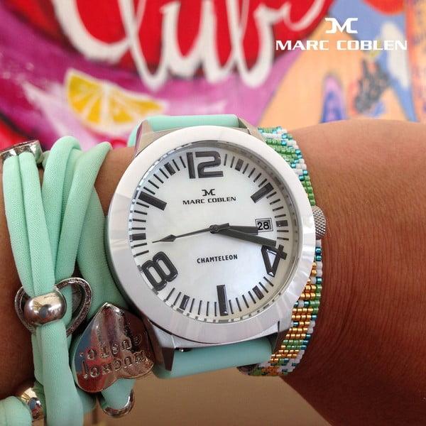Zegarek unisex Marc Coblen z dodatkowym paskiem i obręczą P15