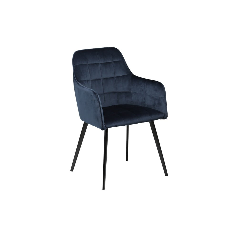 Granatowe krzesło DAN-FORM Denmark Embrace