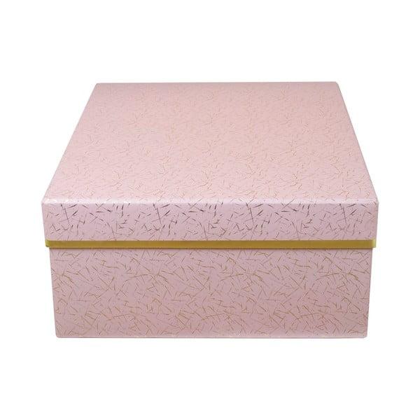 Pudełko Stockholm, różowe