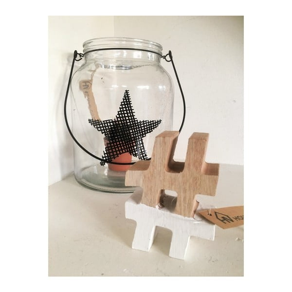 Drewniana dekoracja HouseVitamin® Hashtag