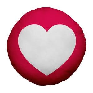 Poduszka Emoji Heart, 39 cm