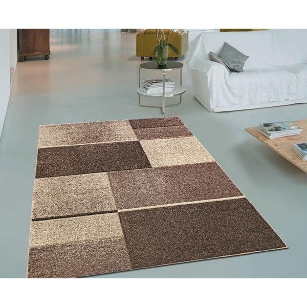 Dywan Webtappeti Intarsio Brown, 140x200 cm