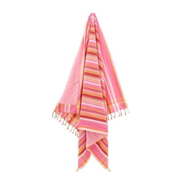 Ręcznik Hazan Pink, 100x178 cm