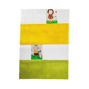 Dywan dziecięcy Mavis Yellow and Green, 100x150 cm