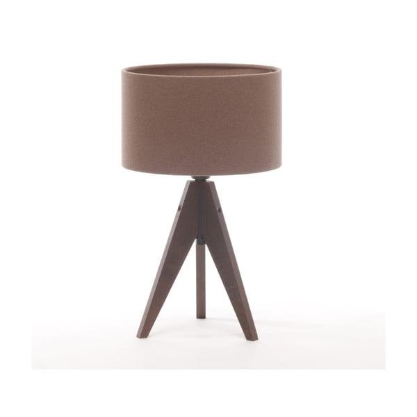 Lampa stołowa Artist Cylinder Dark Taupe/Dark Brown