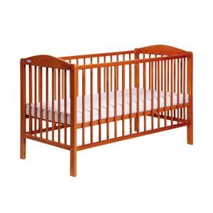 Łóżeczko dziecięce z bokami na stałe Samuel, olcha
