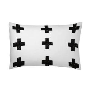Poszewka na poduszkę Cruces Negro, 70x80 cm