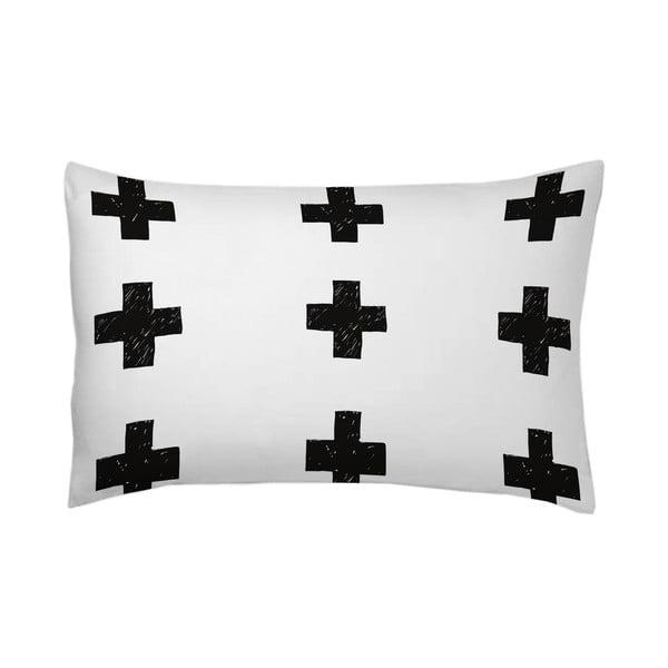 Poszewka na poduszkę Cruces Negro, 50x70 cm