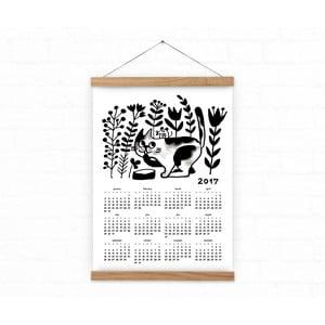 Kalendarz ścienny na rok 2017 Cat and Mouse