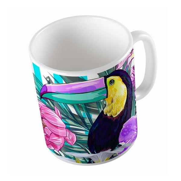 Kubek ceramiczny Toucan Bird, 330 ml