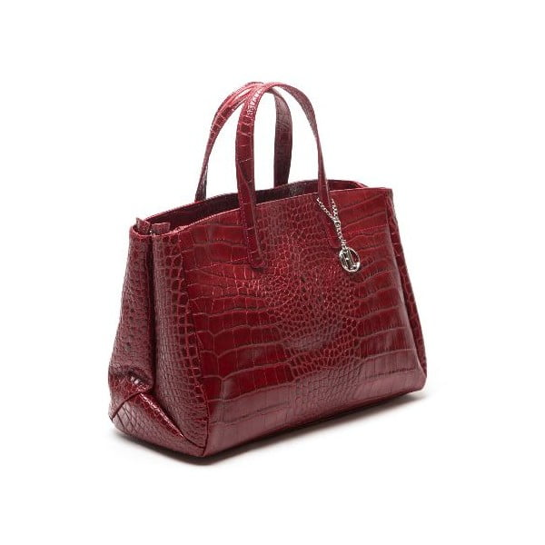 Skórzana torebka Anna Luchini 634 Rosso