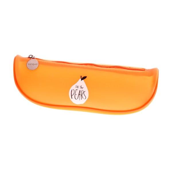 Pomarańczowy piórnik Languo Sweat