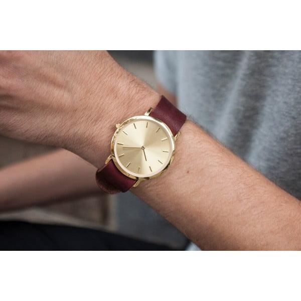 Czerwony zegarek Analog Watch Co. Classic