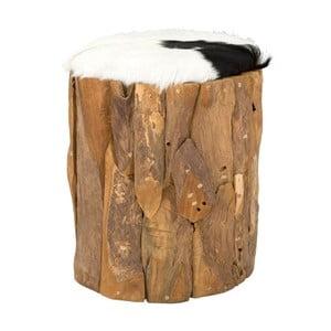 Stołek z drewna tekowego SOB Ando