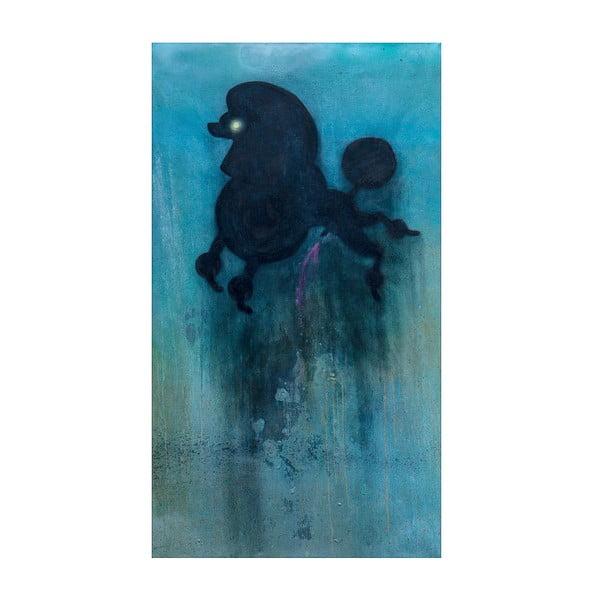 Plakat autorski: Léna Brauner Pudel, 60x101 cm