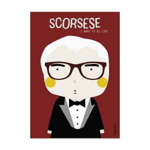 Plakat I want to be like Scorsese