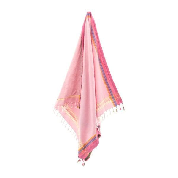 Ręcznik Nuray Pink, 100x178 cm