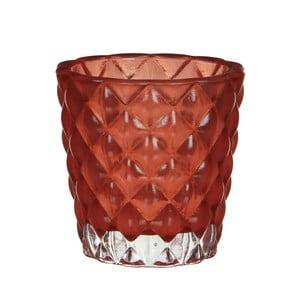 Świecznik Bent Red, 8 cm