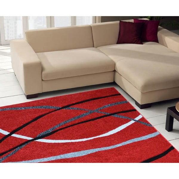 Dywan Webtappeti Intarsio Red, 140x200 cm