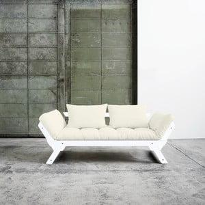 Sofa wielofunkcyjna Karup Bebop White/Natural