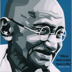 """Obraz """"Gandhi"""""""