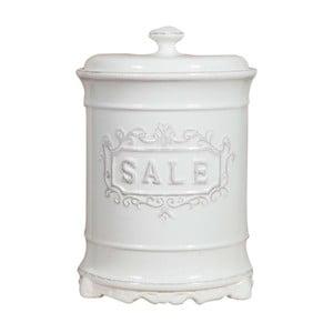 Biały pojemnik ceramiczny na sól Crido Consulting Cuisine Florence