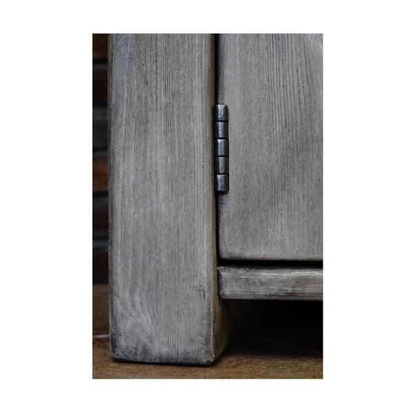 Komoda z litej sosny z 6 szufladami Seart, 160x77 cm