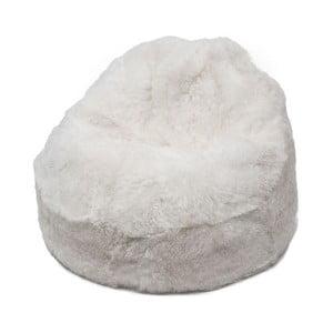 Futrzany worek do siedzenia White