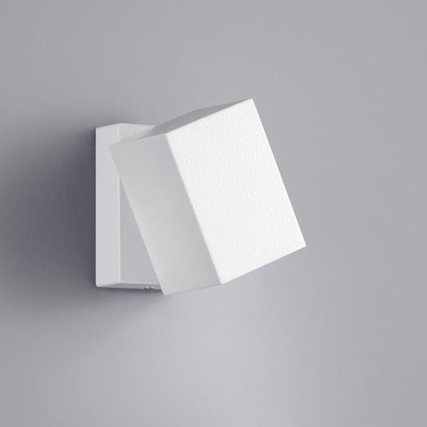 Kinkiet zewnętrzny Tiber White, 10 cm