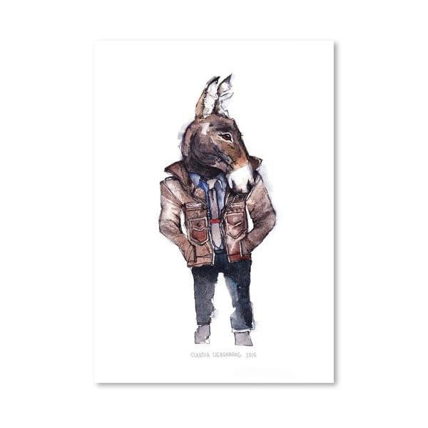 Plakat Jeffrey the Mule, 30x42 cm