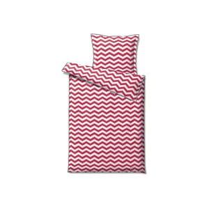 Pościel Zig Zag Pink, 140x200 cm