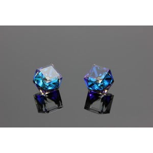 Kolczyki Swarovski Elements Beatiful Bermuda Blue