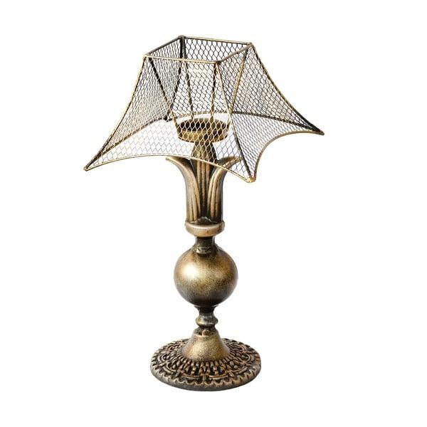 Świecznik w kształcie lampy Bettina Rustic